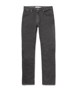 NONNATIVE   Dweller Slim-Fit Overdyed Cotton-Twill Jeans