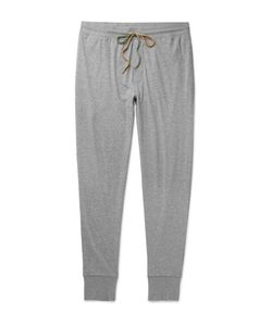 Paul Smith | Tapered Mélange Cotton-Jersey Sweatpants