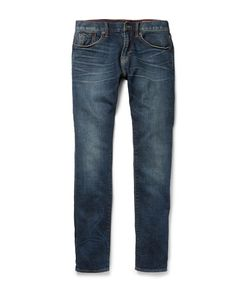 JEAN SHOP | Jim Slim-Fit Selvedge Denim Jeans