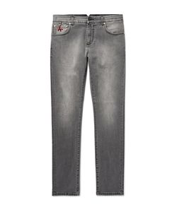 Isaia | Slim-Fit Stretch-Denim Jeans