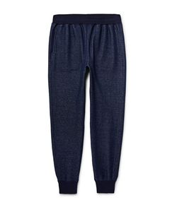 TODD SNYDER | Slim-Fit Tape Mélange Cotton-Blend Jersey Sweatpants Storm