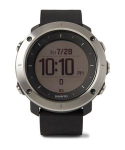 SUUNTO | Traverse Gps Outdoor Exploration Stainless Steel And Silicone Watch