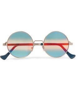 CUTLER & GROSS   Cutler And Gross Round-Frame Tone Sunglasses