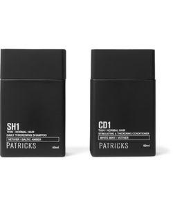 Patricks | Daily Thickening Shampoo Stimulating Thickening Conditioner 2x60ml