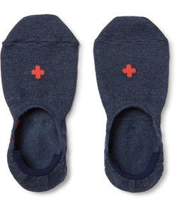 Beams Plus | Cotton-Blend No-Show Socks