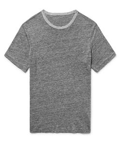 Club Monaco | Slim-Fit Mélange Linen T-Shirt