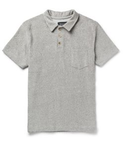 HOWLIN' | Howlin Slim-Fit Cotton-Blend Terry Polo Shirt