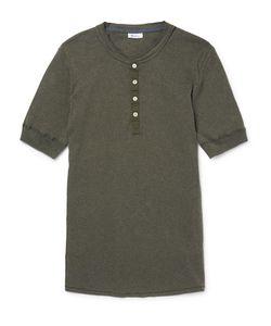 Schiesser | Karl Heinz Slim-Fit Cotton-Jersey Henley T-Shirt