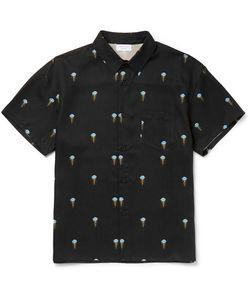 John Elliott | Jellyfish-Print Twill Shirt