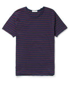 NONNATIVE   Master Striped Cotton-Jersey T-Shirt