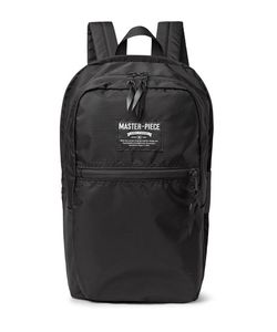 Master-Piece | Pop N Pack Water-Resistant Nylon-Ripstop Backpack