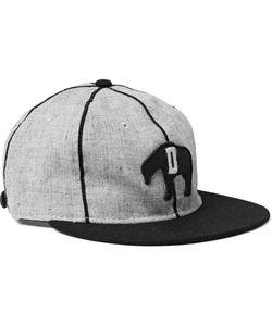 EBBETS FIELD FLANNELS | 1935 Detroit Cubs Appliquéd Wool Baseball Cap