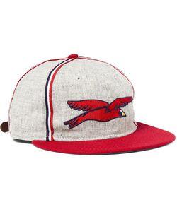 EBBETS FIELD FLANNELS | 1937 Columbus Birds Wool-Flannel Baseball Cap