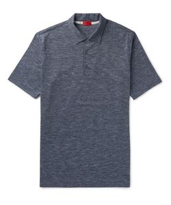 Isaia | Space-Dyed Cotton-Jersey Polo Shirt
