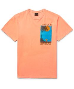 Stüssy | Eventide Printed Cotton-Jersey T-Shirt