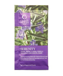 Bodyism's Clean and Lean | Serenity Supplement Shakes 10 X 10g