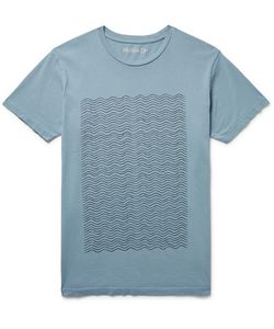 MOLLUSK | Printed Cotton-Jersey T-Shirt