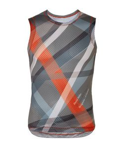 Chpt./ | / 1.81 Printed Mesh Cycling Tank Top