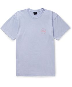 Stüssy | Old Stamp Printed Cotton-Jersey T-Shirt