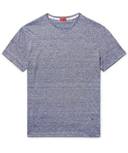 Isaia | Space-Dyed Knitted Linen And Cotton-Blend T-Shirt