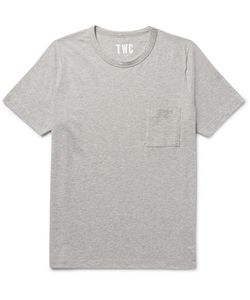 The Workers Club | Mélange Cotton-Jersey T-Shirt