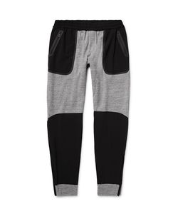 Under Armour Sportswear | Shell-Panelled Honeycomb-Knit Cotton Sweatpants