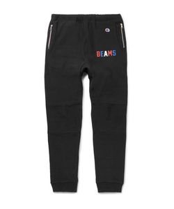 Beams | Champion Slim-Fit Tape Loopback Cotton-Blend Jersey Sweatpants
