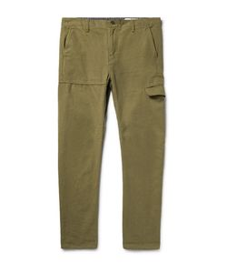 OUTERKNOWN | Roamer Slim-Fit Hemp And Organic Cotton-Blend Cargo Trousers