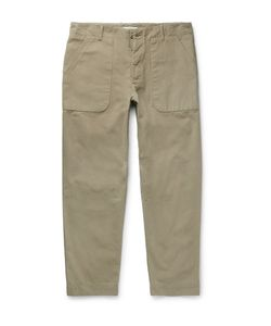 Folk | Cotton-Canvas Trousers