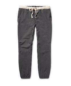 Beams Plus | Slim-Fit Stretch-Nylon Twill Drawstring Trousers