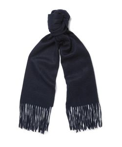Mulberry | Brushed-Cashmere Scarf