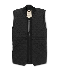 NEMEN | Garment-Dyed Quilted Shell Gilet