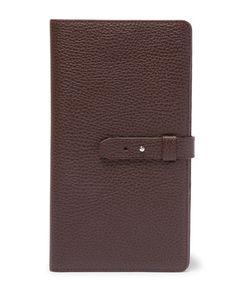 Brunello Cucinelli | Full-Grain Leather Travel Wallet