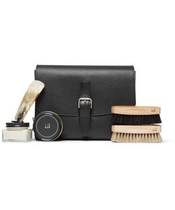 Dunhill | Boston Shoe Care Kit With Leather Case