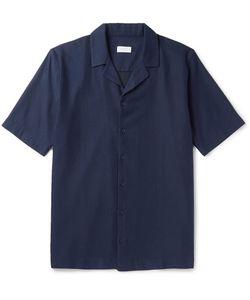 Sunspel | Camp-Collar Textu-Cotton Shirt