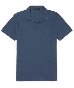 Theory | Willem Slim-Fit Slub Cotton-Jersey Polo Shirt