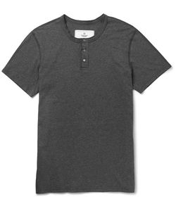 Reigning Champ | Slim-Fit Cotton-Jersey Henley T-Shirt