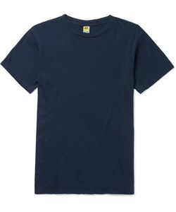Velva Sheen | Slim-Fit Slub Cotton-Jersey T-Shirt