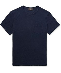 RRL | Indigo-Dyed Slub Cotton-Jersey T-Shirt