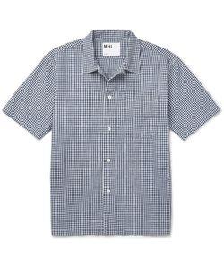 MARGARET HOWELL | Gingham Cotton Shirt