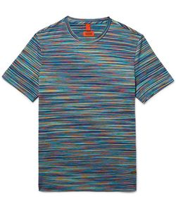 Missoni | Slim-Fit Space-Dyed Knitted Cotton T-Shirt