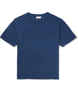 SATURDAYS NYC | Pacho Cotton And Linen-Blend T-Shirt