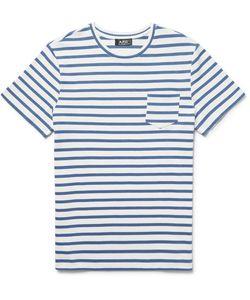 A.P.C. | . Michael Slim-Fit Striped Cotton-Jersey T-Shirt