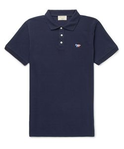 Maison Kitsune | Cotton-Piqué Polo Shirt