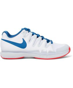 Nike Tennis | Zoom Vapor 9.5 Tour Rubber-Trimmed Mesh Tennis Sneakers