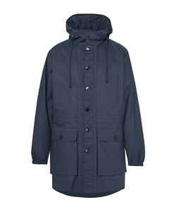 HELBERS | Coated-Cotton Hooded Parka