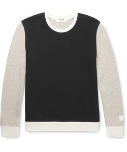 Aloye | G.F.G.. Slim-Fit Colour-Block Cotton And Yak-Blend Sweater