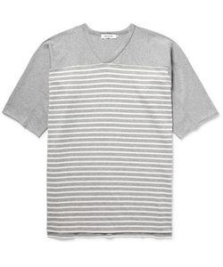 NONNATIVE | Trainer Striped Cotton-Jersey T-Shirt