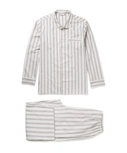 Schiesser | Alfred Striped Cotton Pyjama Set