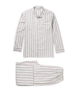 Schiesser | Alfred Striped Cotton Pyjama Set